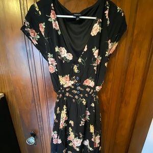Torrid Floral Tea Length Dress